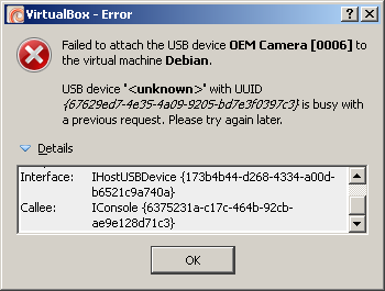virtualbox org • View topic - USB devices always busy