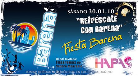 Fiesta Barena - Discoteca Hapas