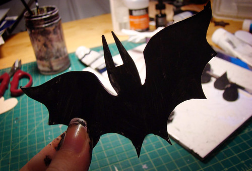 bat shape