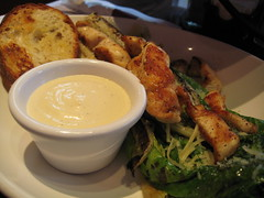 Grilled Caesar Salad w/ Chicken at Coal Fire