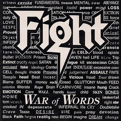 1993 Fight War of Words CD Booklet
