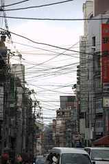 Setsubun 2010 (jcruz2000) Tags: street urban japan temple kyoto industrial view event wires infrastructure  gion 2010  yearly  jcruz2000
