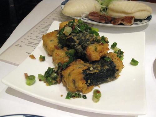 Nori-Wrapped Fried Tofu