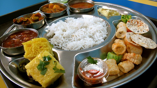 Thali at Kusum Foods