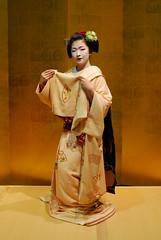 Maikodance01 (Jasper the Roclimbr) Tags: woman japan dance kyoto maiko geisha kimono naokazu