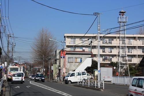 喜平橋の火の見櫓