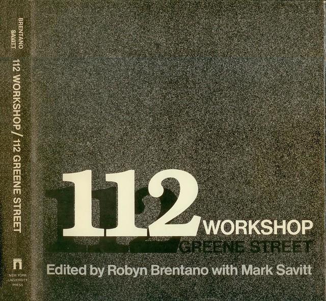 112 workshop  112 greene street - B000K1F8OM - NYU Press 1981 by ala3letter