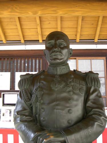 秋山真之像/Akiyama Saneyuki's Statue