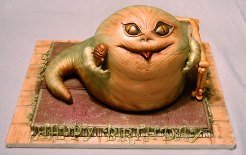 Jabba the Hutt Birthday Cake 1