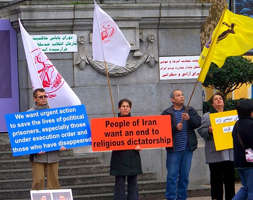 Vancouver Iran protests politics
