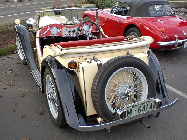 MG TC, Austin Healey 3000