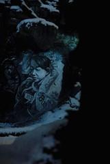 Ether (part 2) by Ehrmann's Crew K _DDC2792 (Abode of Chaos) Tags: portrait sculpture snow streetart france art mystery museum architecture night dark painting graffiti ruins rawart outsiderart chaos symbol contemporaryart secret 911 apocalypse taz nuclear peinture eros container freemasonry anarchy artbrut nuit ddc sanctuary worldwar bombing mystic cyberpunk landart devastation alchemy destroy modernsculpture prophecy 999 vanitas endoftheworld sanctuaire dadaisme artprice salamanderspirit organmuseum saintromainaumontdor demeureduchaos thierryehrmann alchimie artsingulier prophtie abodeofchaos facteurcheval palaisideal kurtehrmann postapocalyptique maisondartiste artistshouses sculpturemoderne francmaconnerie photosinterdites gesamtkuntwerk groupeserveur lespritdelasalamandre crashculture servergroup
