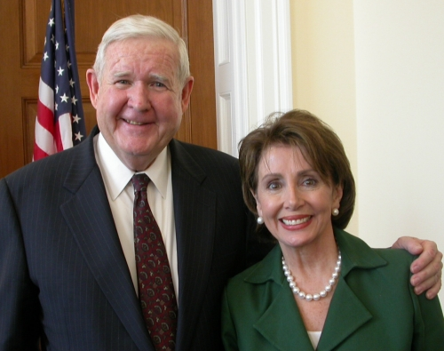 Rep. John Murtha and Speaker Nancy Pelosi