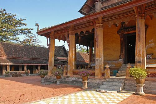 Le sanctuaire du Vat Sisaket (Vientiane)