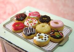 Miniature Food - Crazy Donuts Set C