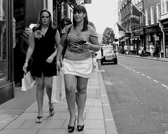 The Wags (Ian Brumpton) Tags: street blackandwhite bw london interestingness noiretblanc candid streetphotography streetlife explore londres mayfair bondstreet classy footballerswives retailtherapy poetryinmotion wags londonist explored shoptillyoudrop blackwhitephotos urbantales modelbehaviour scattidistrada wivesandgirlfriends