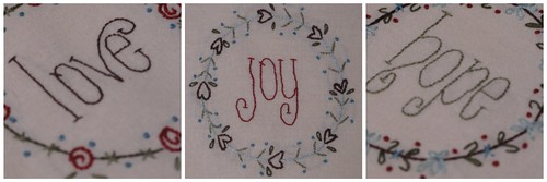 Gail Pan Designs Christmas BOM Collage