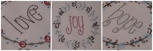 Gail Pan Designs Christmas BOM Collage