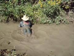 WS Field Inspector's Mud Pond wallow concludes in muddy pleasures - Part 4 (wranglerswimmer) Tags: wet swimming mud clothed cowboyhat wading fully mudding wetlook wranglerjeans wetguys creekswimming wetboots guysinwetjeans bootwater wetladz creekhike wetcowboy swimminginjeans mudwallow mudwading wetcowboyboots wetwranglerjeans mudwallowing guysswimminginjeans swimmingcowboy
