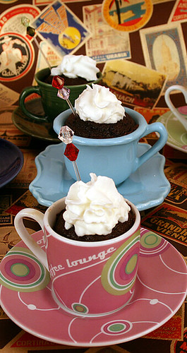 Hot Chocolate Cupcakes for a Winter's Day 2010