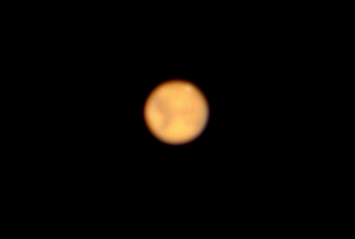 Mars Through a Telescope