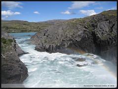 Somewhere, over the rainbow (FeyZ) Tags: chile patagonia arcoiris rainbow agua natural sur torresdelpaine magallanes bello parquenacional saltogrande
