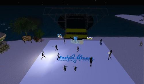 party at japan resort