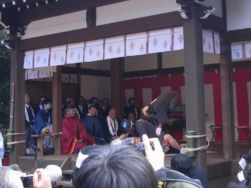 飛鳥坐神社(おんだ祭)@明日香村-13