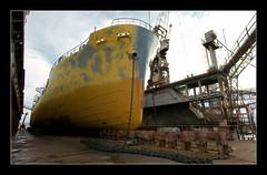 _MG_5811 (NickChino) Tags: workers rust ships hellas athens greece workplace shipyard shipping  perama varv shipbuiding