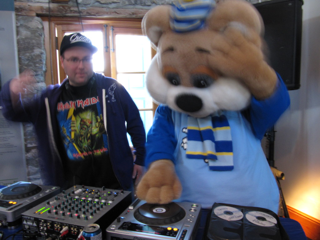 Ice Hog on the Decks