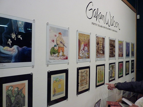 Gahan Wilson at Fantagraphics Bookstore & Gallery, Jan. 13, 2010
