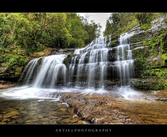 Liffey Fall, Tasmania :: HDR (Artie | Photography :: I'm a lazy boy :)) Tags: trees fall nature water grass rock photoshop canon landscapes waterfall moss rocks cs2 australia wideangle pebbles falls pebble tasmania handheld grasses algae hobart 1020mm hdr cascading artie liffeyfalls 3xp sigmalens photomatix tonemapping tonemap greeneries 400d rebelxti