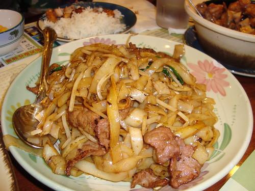 Beef Chow Fun @ Tasty Garden