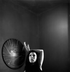 (kaleakte) Tags: portrait 6x6 film girl analog mediumformat hasselblad aiko hasselblad500cm rolleiretro400 wwwkaleaktealtervistaorg