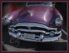 Packard 1954 Pacific Front (C.A.J.) Tags: classic photoshop 1954 grill chrome hood packard classicauto autoglamma