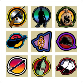 free Reel Crime 1 Bank Heist slot game symbols
