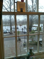 """Ramside hotel idea of """"broadband"""" - a 3g card plugged into a router"""