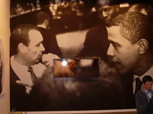 Obama y Paris Hilton, en un montaje fotográfico de Víktor Bucher