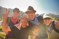 us with mr. chart! (sgoralnick) Tags: alexis travel me trek thailand asia southeastasia chad jungle pai flybutter sgoralnick thirtyoneteeth mrchart trekpaicom