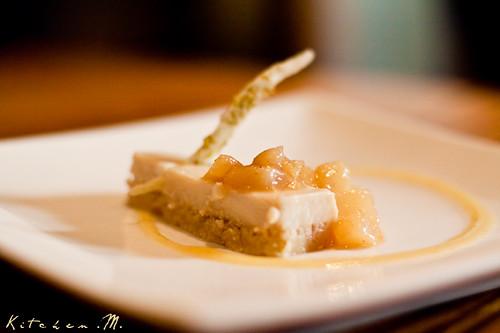 Nobu's Tofu Cheesecake