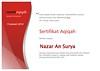 SA-Palembang-2010-01-Januari-Nazar An Surya (RumahAqiqah) Tags: certificate 2010 palembang aqiqah zabiha sertifikat januari2010 rumahaqiqah certificateofaqiqah certificateofzabiha sertifikataqiqah