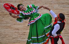 El Fin (djk~imaging) Tags: red green pose mexico dance cowboy dress mexican sombrero d5000 flickr12days