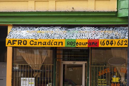 Afro Canadian Restaurant