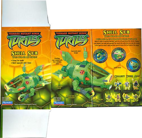 Teenage Mutant Ninja Turtles :: SHELL SUB.. box ii  (( 2003 ))
