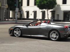 Ferrari F430 Spider (C. Arnoldy) Tags: california italian ferrari beverlyhills f430 rodeodrive f430spider 430spider ferrarif430spider grigiosilverstone