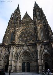 St. Vitus Cathedral (Samuca°) Tags: republica st photo flickr republic czech prague cathedral image gothic praha praga vitus tcheca samuca