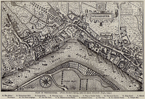 Westminster in 1593
