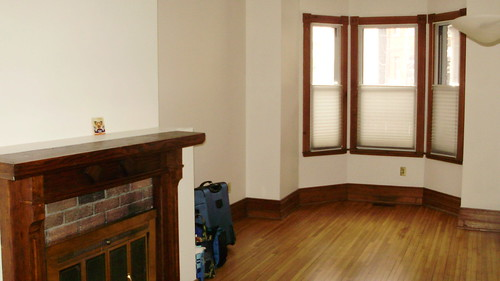 new apartment, before furniture