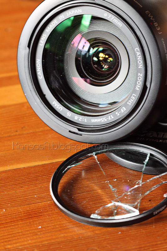 Broken UV filter (by KansasA)