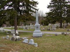 Pittsford NY- Pittsford Cemetery (GraveWalker) Tags: whitebronze zinker